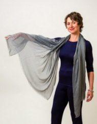 Bamboo Print Shawls - Simply Silk