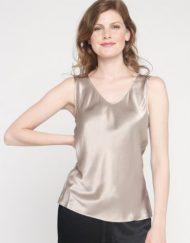 Sleeveless Silk Shell top - Simply Silk