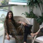 Silk Kaftan - Leopard Print - Simply Silk