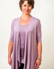 Bamboo top with half sleeve - Simply Silk